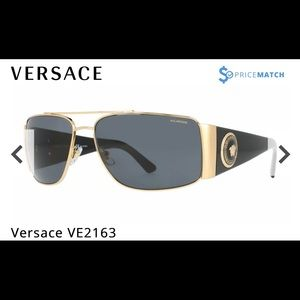 Versace New in Box Sunglasses